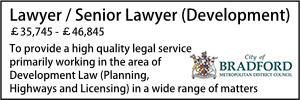 Bradford Lawyer Development