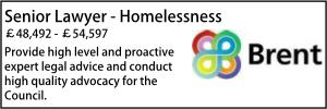 Brent Aug 20 Homelessness