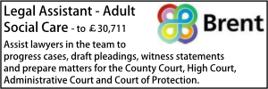 Brent May 20 Legal Assistant adults
