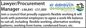 Denbighshire Nov 20 Lawyer Procurement