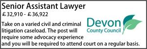 Devon Oct Senior Lawyer Litigation