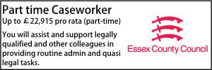 Part time caseworker Essex 21