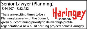 Haringey Jan 20 Senior Planning