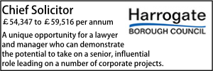 Harrogate Oct 20 Chief Solicitor