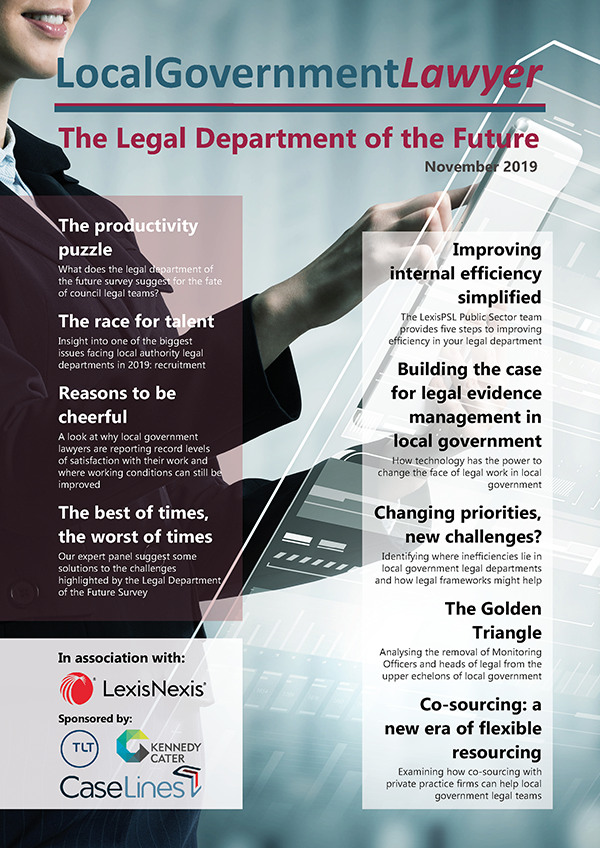 Legal Department of the Future 2019 Cover 400px