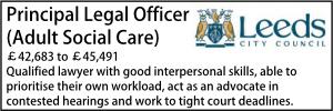 Leeds Principal Social Care