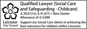 Leicester Sept 20 Lawyer Childrens