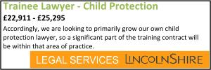 Lincolnshire Feb 20 Trainee Childrens