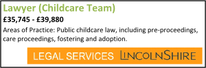 Lincolnshire Sep 20 Childcare Lawyer