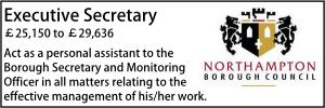 Northampton Jan 20 Executive Sec