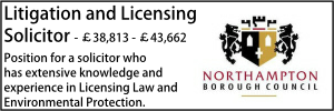 Northampton March 20 Litigation Licensing