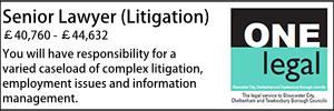 One Legal Feb 20 Senior Litigation