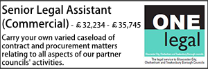 One Legal Oct 20 Senior Legal Assistant Commercial