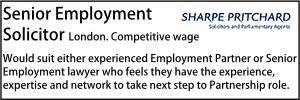 Sharpe Pritchard Dec 19 Employment