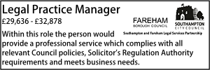 Southampton Feb 20 Legal Practice Manager
