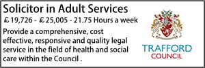 Trafford Feb 20 Adult Solicitor