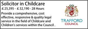 Trafford Feb 20 Child Solicitor