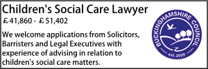 Bucks July 21 Children's Social Care Lawyer