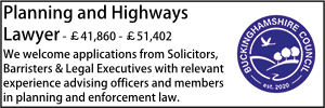 Bucks July 21 Planning and Highways Lawyer
