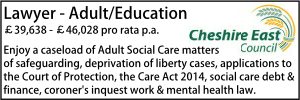 Cheshire East June 20 Adult Education
