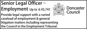 Doncaster Sept 21 Employment