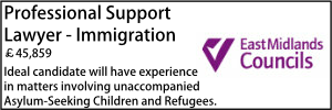 East Midlands May 21 Immigration