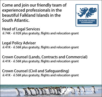 Falklands Islands Legal Job Vacancies