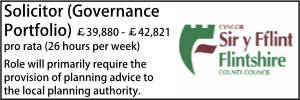 Flintshire April 21 Governance Portfolio