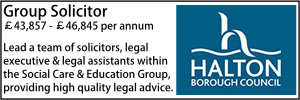 Halton April 21 Group Solicitor