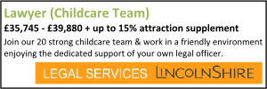 Lincolnshire Feb  21 Lawyer Childcare
