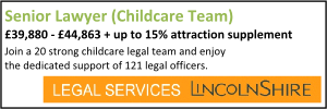 Lincolnshire Feb 21 Senior Childcare