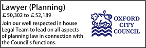 Oxford City Feb 21 Planning
