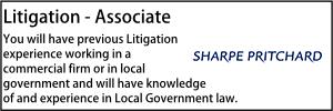 Sharpe - Litigation associate