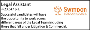 Swindon May Legal Assistant