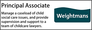 Weightmans Dec 20 Principal Solicitor