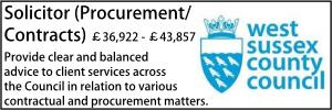 West Sussex April 21 Contracts