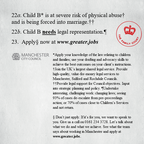 Manchester City Council Child Protection Lawyers