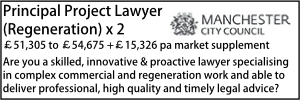 Manchester June 20 Principal Project Lawyer