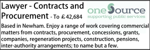 One Source Aug 20 Lawyer Contracts Newham