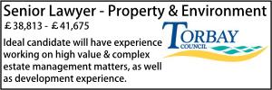 Torbay June 20 Senior Property Environment