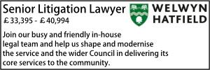Welwyn Aug 20 Senior Litigation
